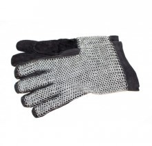 Chainmail gloves, galvanised