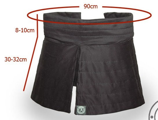 """VG"" Padded skirt"