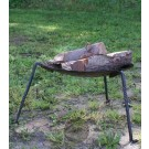 Fire bowl with removable legs.